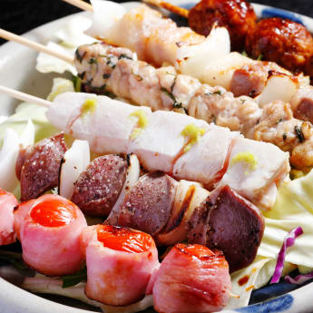 Yakitori, Grilled Meat and Vegerable