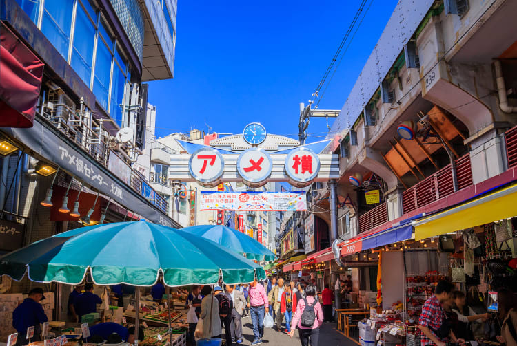Ameya-yokocho Market