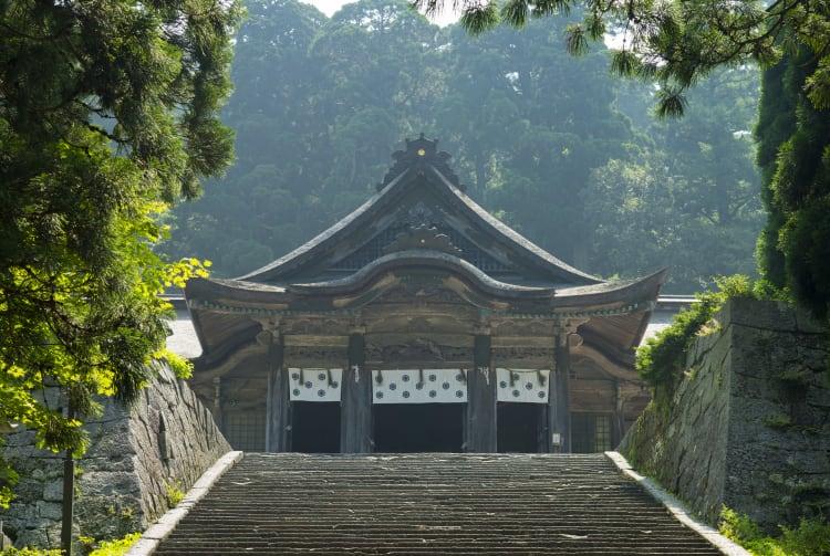 Ogamiyama Shrine Okunomiya -Ogamiyama Inner Shrine