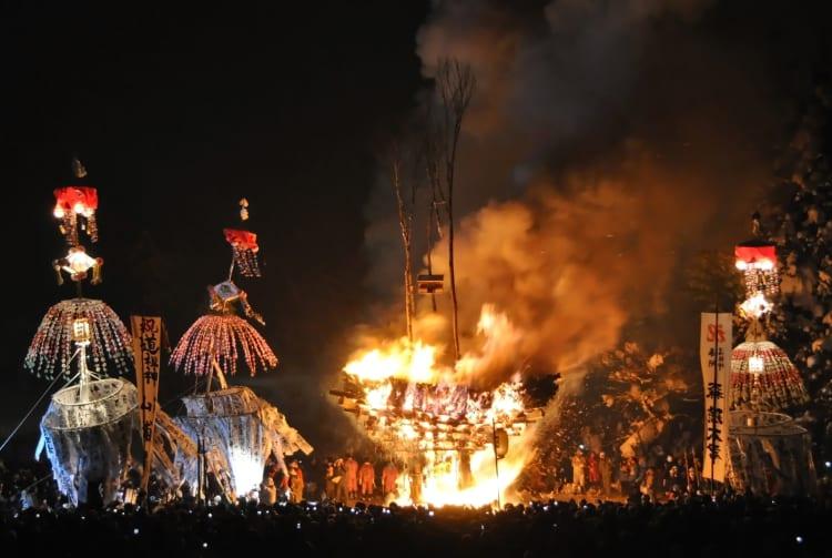 Nozawa Fire Festival