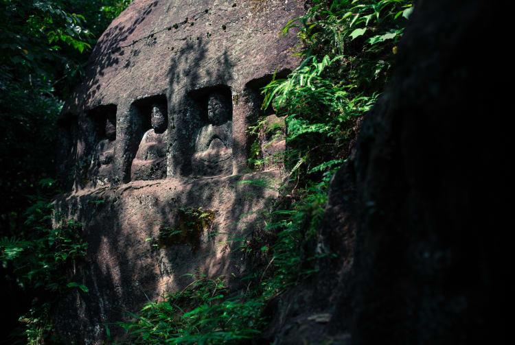 Udono Sekibutsu Buddhist Rock Carvings