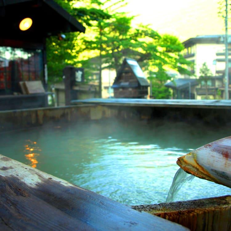 Hirayu-onsen Hot Spring