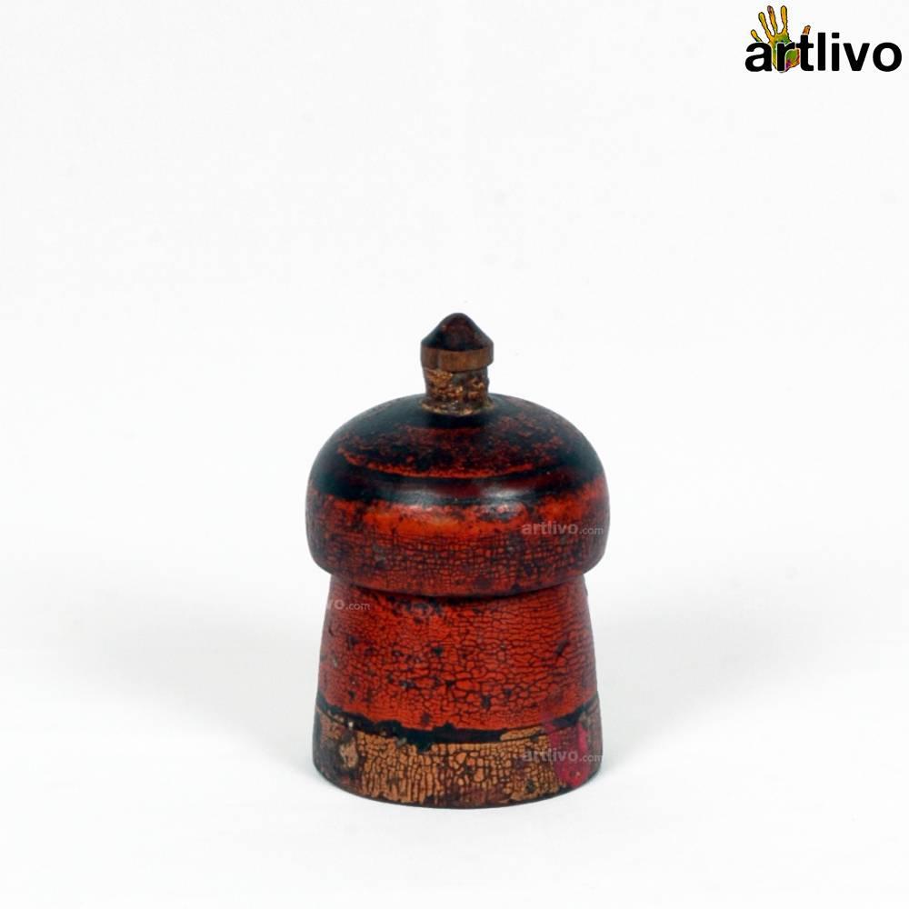 VINTAGE Red Sindoor Dabbi