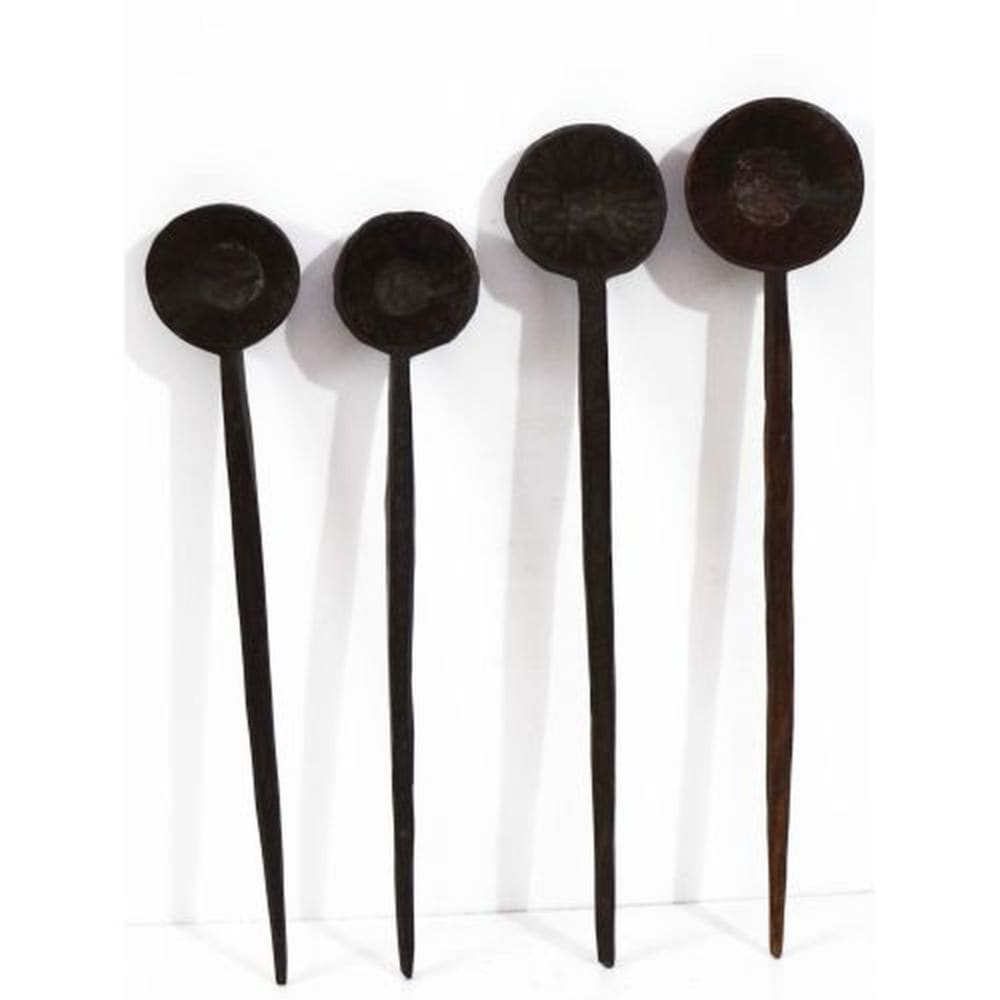 Long Wooden Spoons
