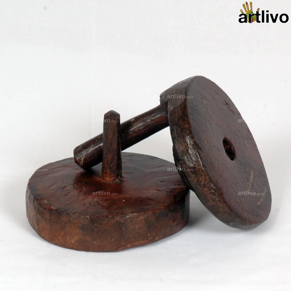 VINTAGE Toy Chakki Small