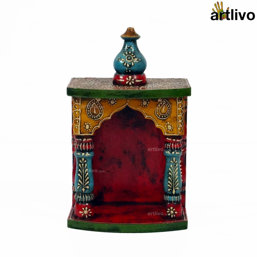 EMBOSSED Arch Temple - Small