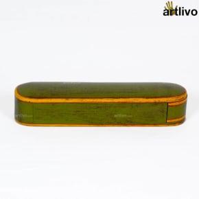 VINTAGE Long Green Box
