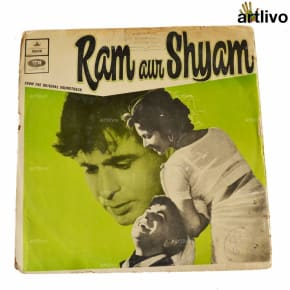 VINTAGE Gramophone Record - Ram Aur Shyam (With Cover)