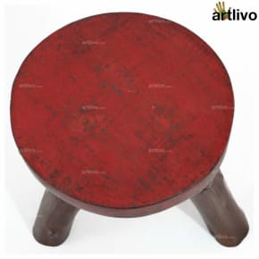 POPART Tri Stool Red