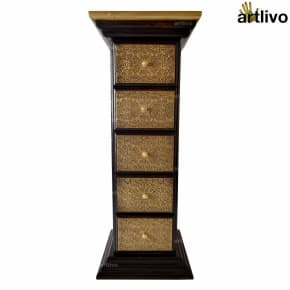 BLING 5 Drawer Pillar Table