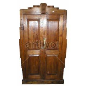 Vintage Indian Beautiful aristocratic Solid Wooden Teak Almirah
