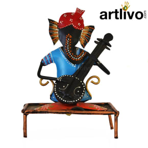 Ganesh Musician With Charpai