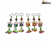 POPART Ganesha Key Chain with Ghungru - Set of 6