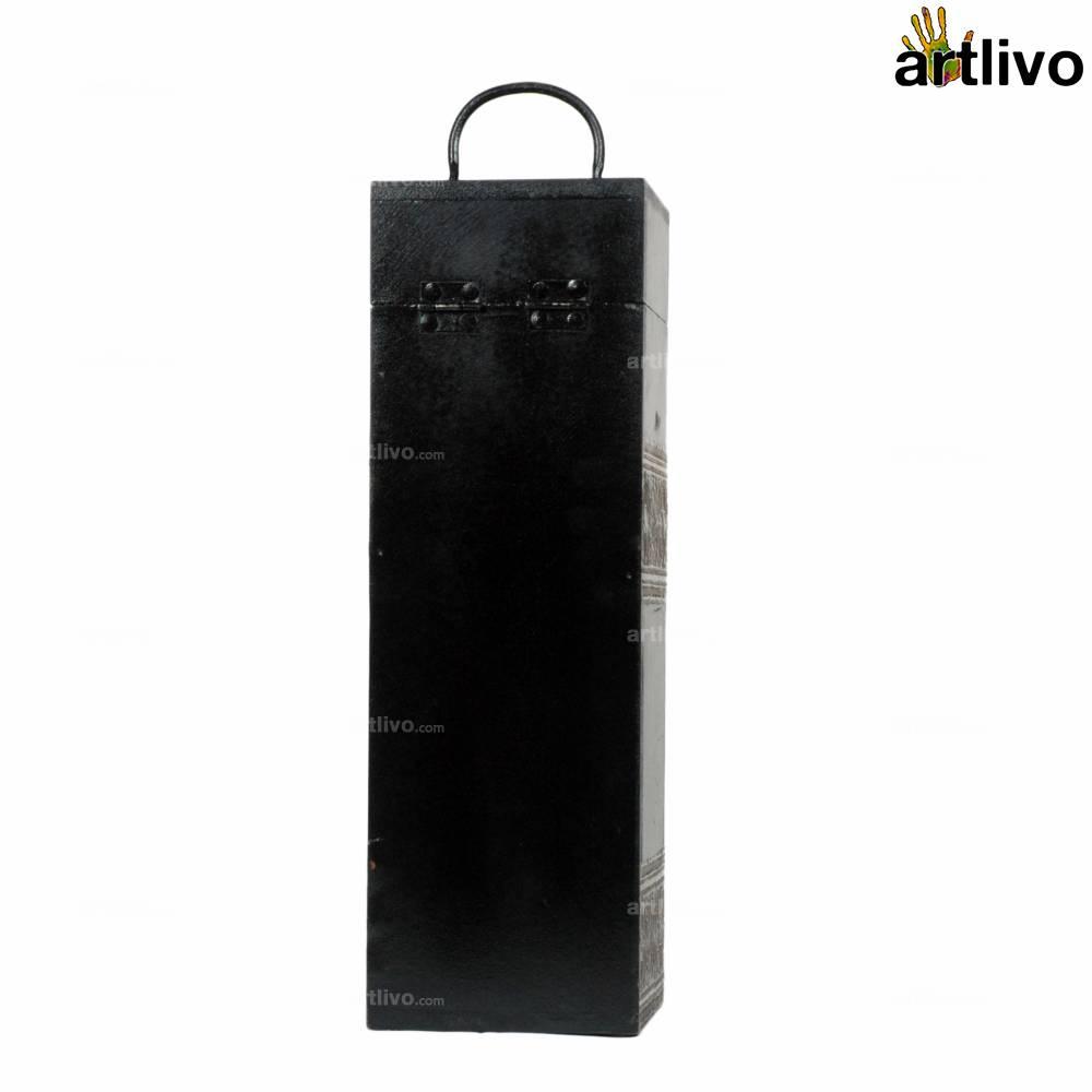 UBER ELEGANT Wine Box Square