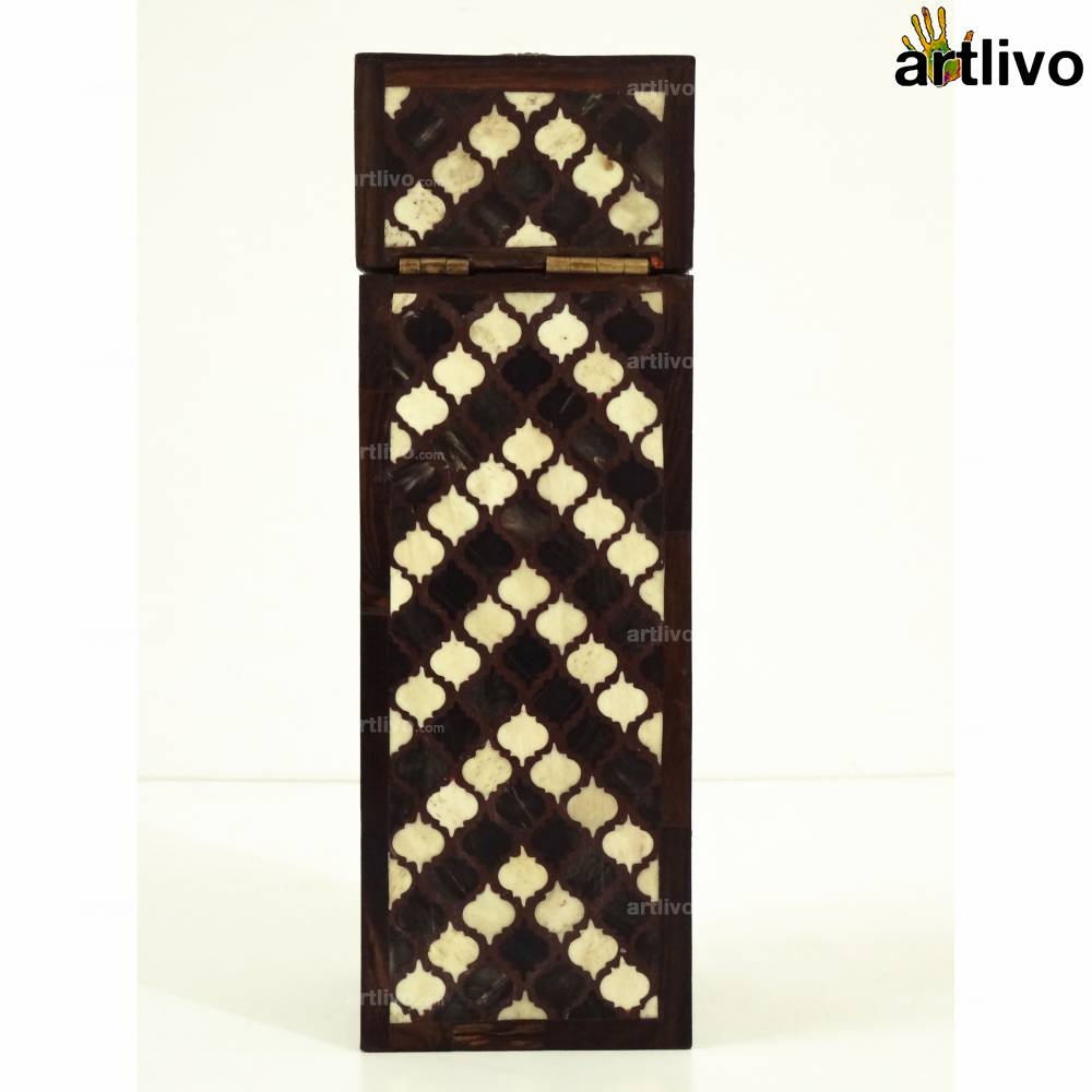 Persian Inlay Wooden Wine Box