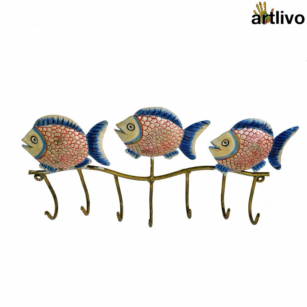 POPART 3 Metal Fish Hook (7 hooks)