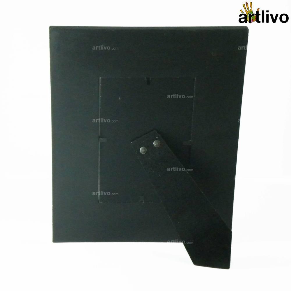 EMBOSSED Black Vine Photo Frame