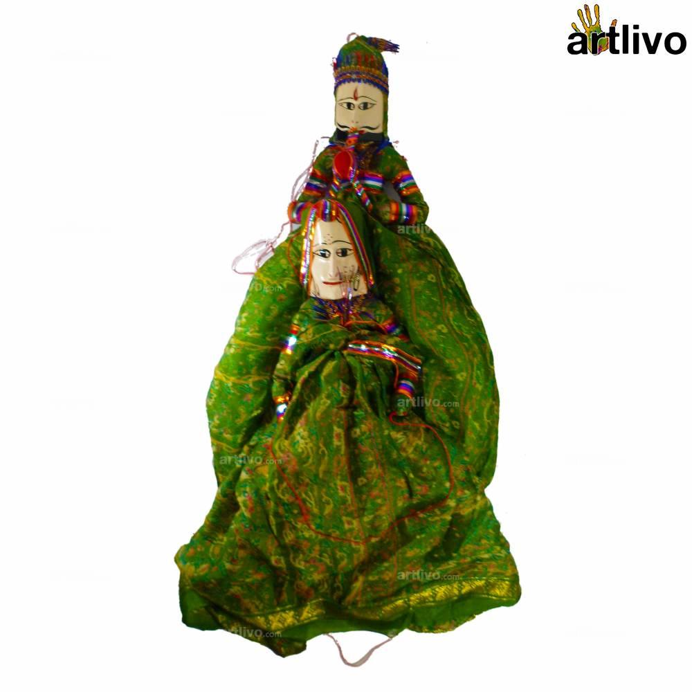 POPART Green Kathputli (Puppet)