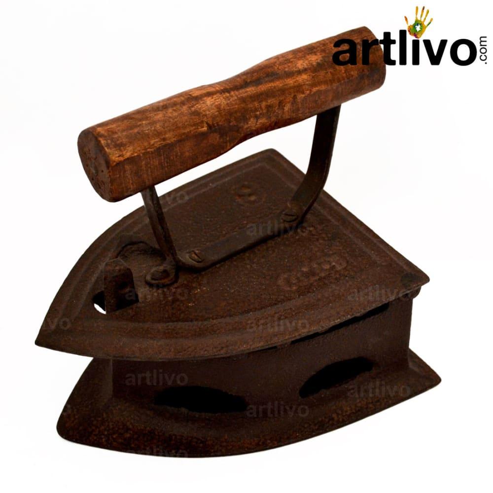 Old iron press
