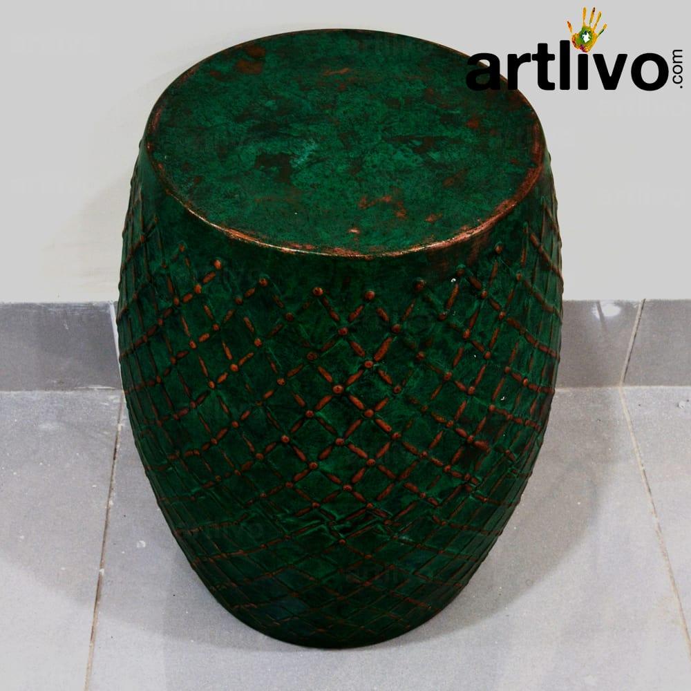 Iron Stool: Green