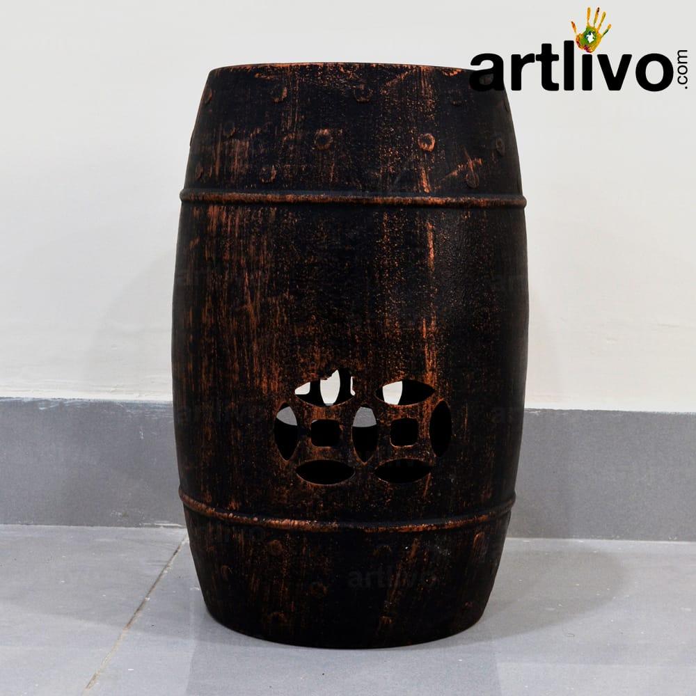 Iron Stool: Brown