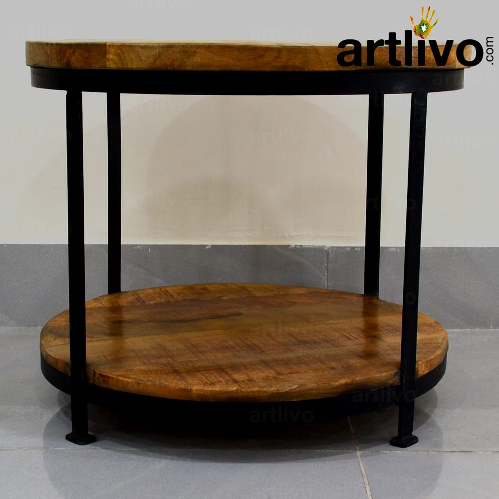 Industrial 4 Leg  Coffee Table - Small