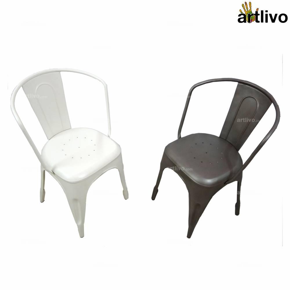 POPART French Grey Armchair