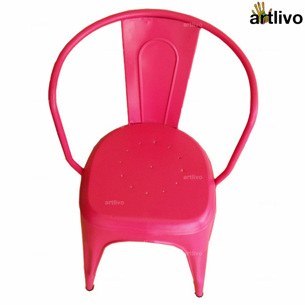 POPART French Pink Arm Chair