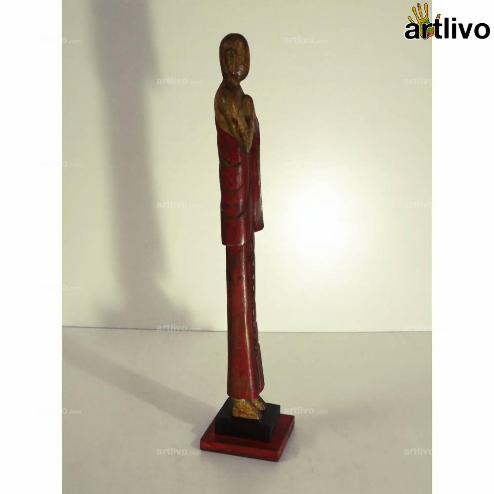 POPART Standing Buddha Red