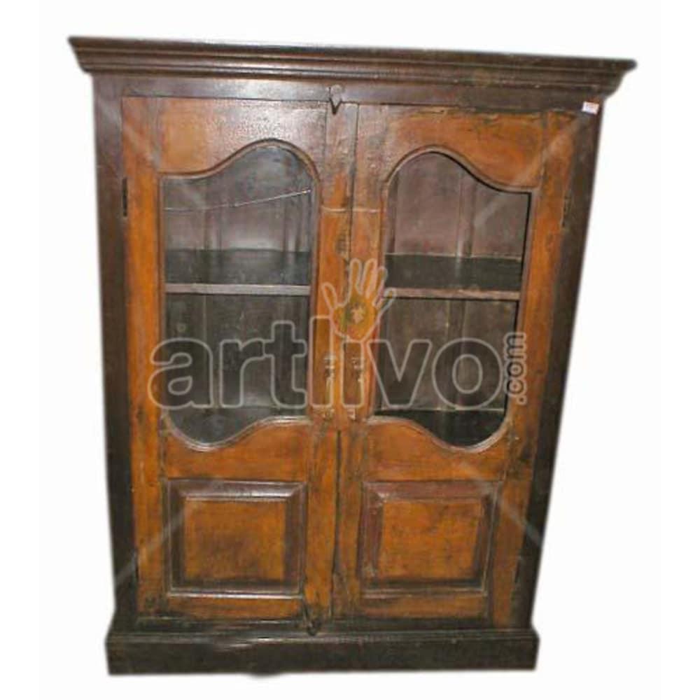 Antique Indian Carved Extravagant Solid Wooden Teak Almirah