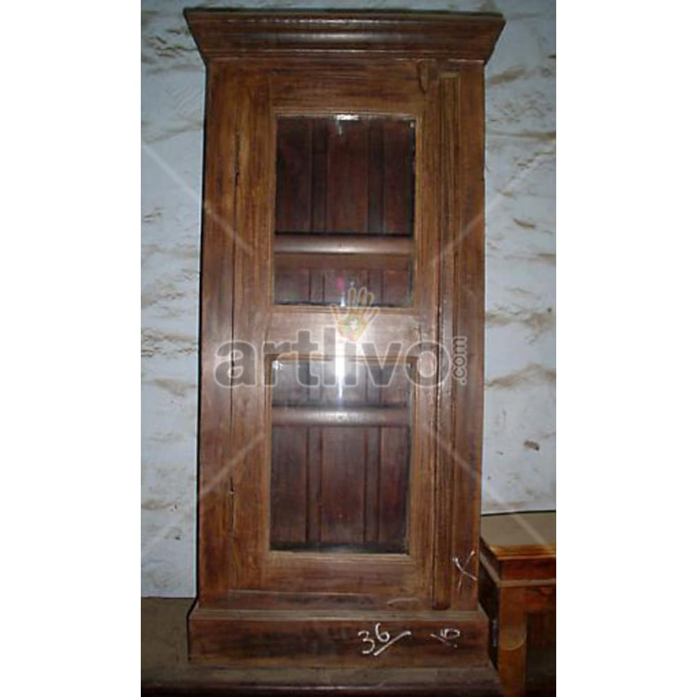 Antique Indian Beautiful illustrious Solid Wooden Teak Almirah