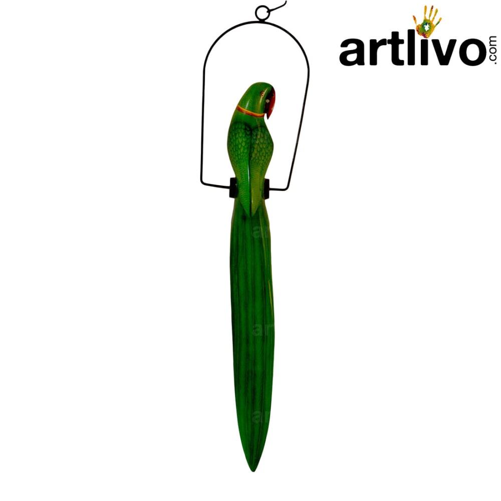 Green Parrot Long