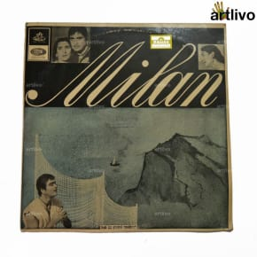 VINTAGE Gramophone Record - Milan (With Cover)