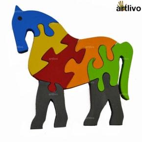 POPART Jigsaw - Loyal Horse