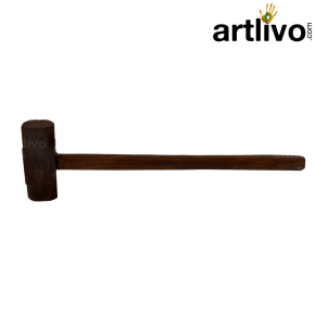 Wooden decorative hammer