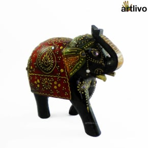 EMBOSSED Rustic Elephant
