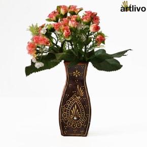 EMBOSSED Phoenix Flower Vase