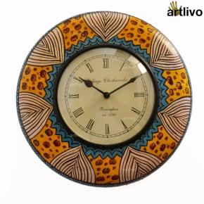 "POPART Roman Round wall clock 12"""
