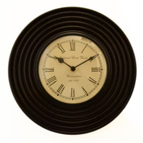 MAPLE Ripple Round Wall Clock 12""