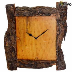 ECOLOG Rustic Wooden Wall Clock - WC053