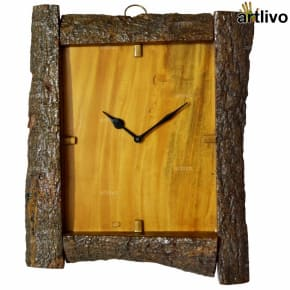 ECOLOG Natural Wood Wall Clock