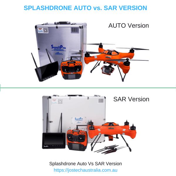SAR vs AUto Splashdrone