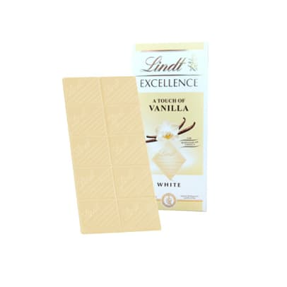White Vanilla Chocolate från Lindt Excellence. 100 gram