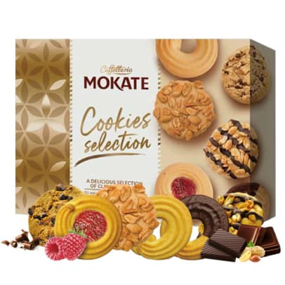 Cookies Selection von Mokate