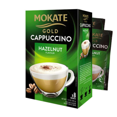 Mokate Gold Hasselnöt Cappuccino