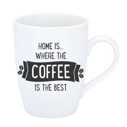 Home is where the coffee is the best