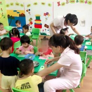 Trường mầm non Hà Anh Montessori