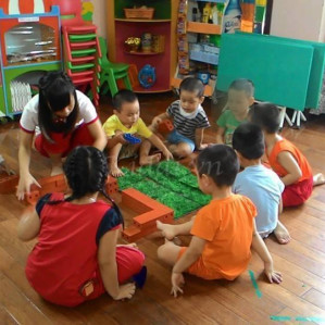 Trường Mầm non Chất lượng cao Bách Việt (Bachvietschool)