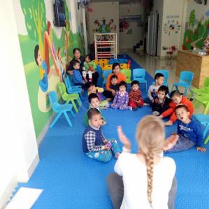 Trường Mầm Non Anh Đào Montessori