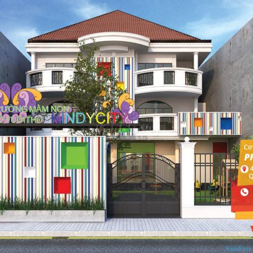 Trường Mầm non quốc tế Kindy City  - Phan Xích Long